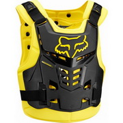 Защита панцирь Fox Proframe LC Black/Yellow